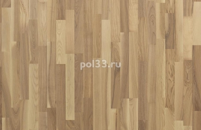 Паркетная доска Polarwood коллекция Classic 3-х полосная Ясень Плутон