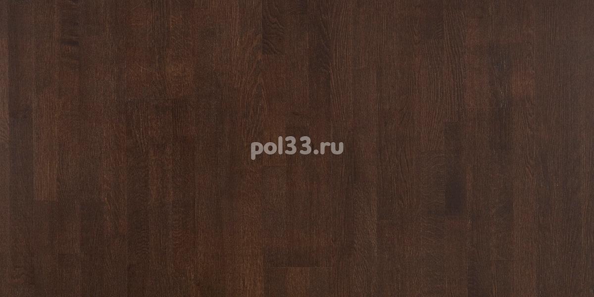 Паркетная доска Polarwood коллекция Classic 3-х полосная Дуб дарк браун купить в Калуге по низкой цене