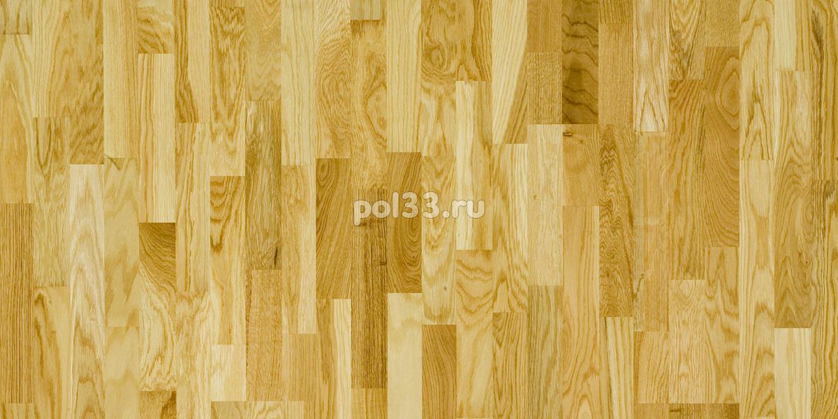 Паркетная доска Polarwood коллекция Classic 3-х полосная Дуб Ливинг купить в Калуге по низкой цене