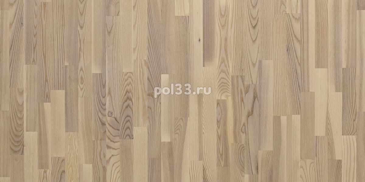 Паркетная доска Polarwood коллекция Classic 3-х полосная Ясень Ливинг купить в Калуге по низкой цене