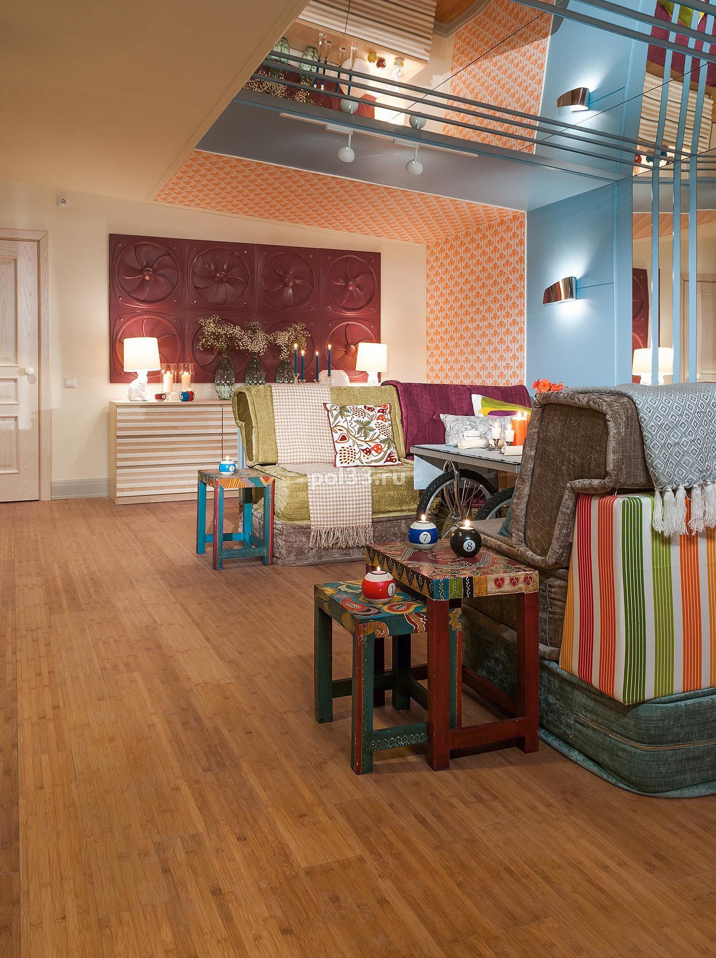 Массивная доска Parketoff коллекция Classic Бамбук кофе горизонтальный - 9 купить в Калуге по низкой цене