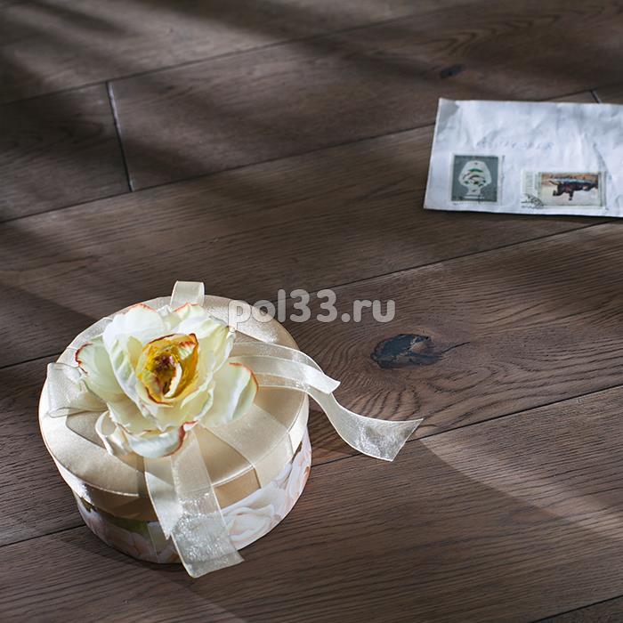 Массивная доска Parketoff коллекция Classic Дуб брашированный Эвора 300-1600 мм купить в Калуге по низкой цене