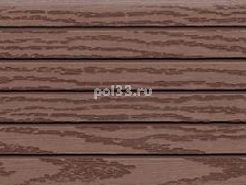 Террасная доска Terrapol коллекция ДПК Орех Милано кантри 1281 купить в Калуге по низкой цене
