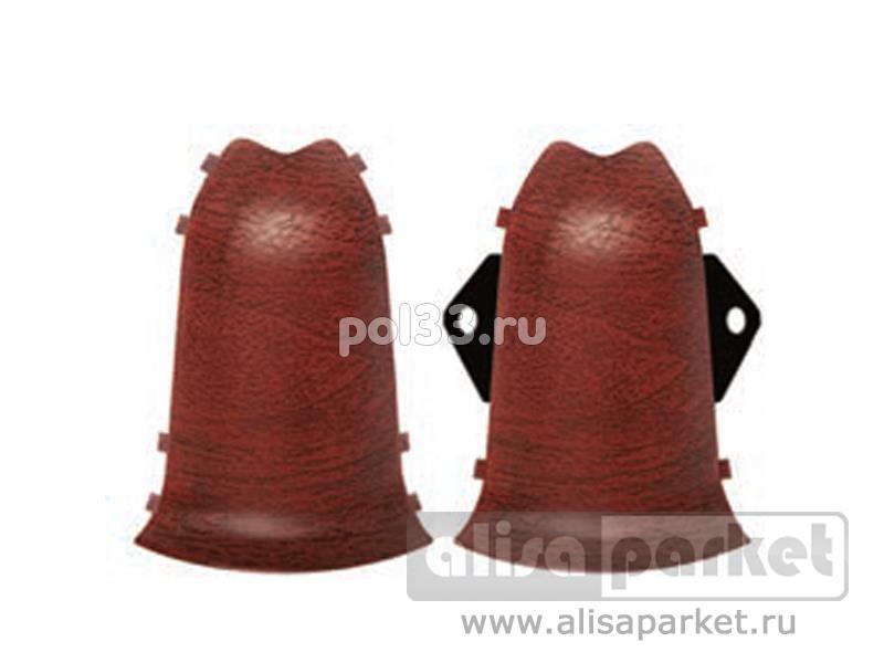 Плинтуса и пороги Ideal Идеал Комфорт Наружный угол для плинтуса К55 (комплект) Н55к купить в Калуге по низкой цене