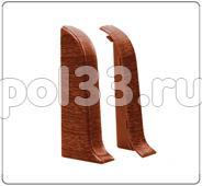 Плинтуса и пороги Ideal Идеал Комфорт Торцевые для плинтуса К55 (пара) Т55п купить в Калуге по низкой цене
