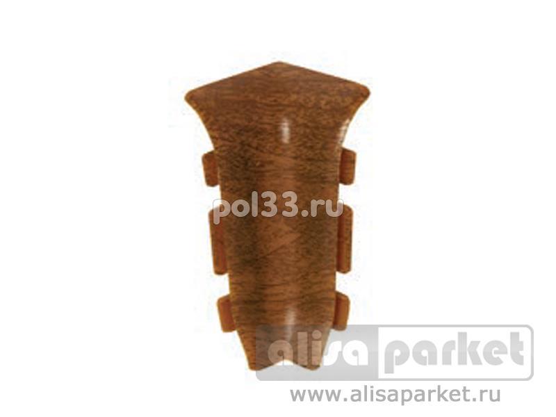 Плинтуса и пороги Ideal Идеал Элит Внутренний угол для плинтуса Е67 (пара) упак ф2В67 купить в Калуге по низкой цене