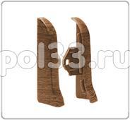 Плинтуса и пороги Ideal Идеал Элит Торцевые для плинтуса Е67 (пара) Т67п купить в Калуге по низкой цене