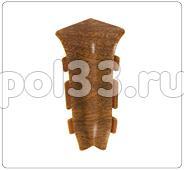Плинтуса и пороги Ideal Идеал Элит-Макси Внутренний угол для плинтуса ЕМ85 В85 купить в Калуге по низкой цене
