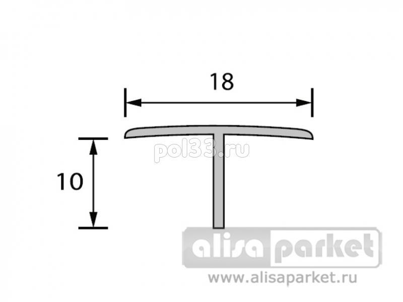 Плинтуса и пороги Ideal Отделочные профили Тавр 18x10 мм белый Т18 купить в Калуге по низкой цене