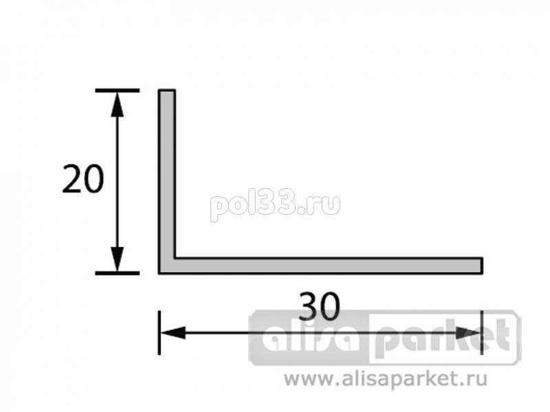 Плинтуса и пороги Ideal Отделочные профили Угол 30x20 мм белый Уа30 купить в Калуге по низкой цене