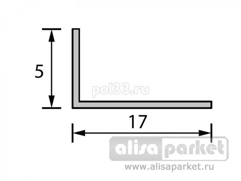 Плинтуса и пороги Ideal Отделочные профили Угол арочный 17x5 мм белый А17 купить в Калуге по низкой цене