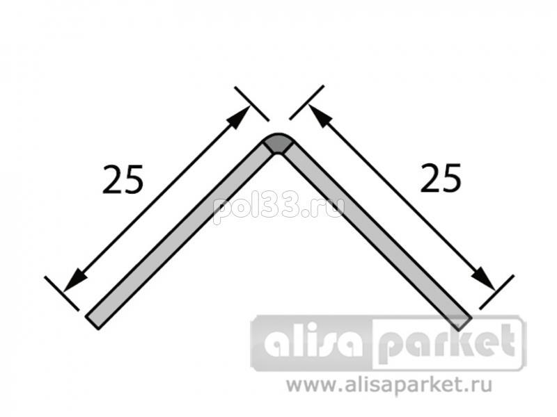 Плинтуса и пороги Ideal Отделочные профили Угол мягкий 25x25 мм белый рулон Ум25 купить в Калуге по низкой цене