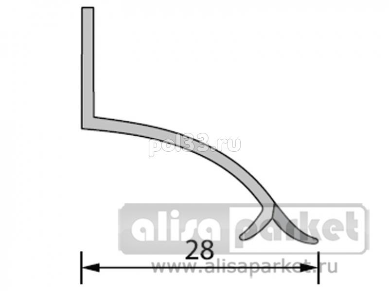 Плинтуса и пороги Ideal Профили для ванны и керамической плитки Бордюр на ванну под плитку БВП купить в Калуге по низкой цене