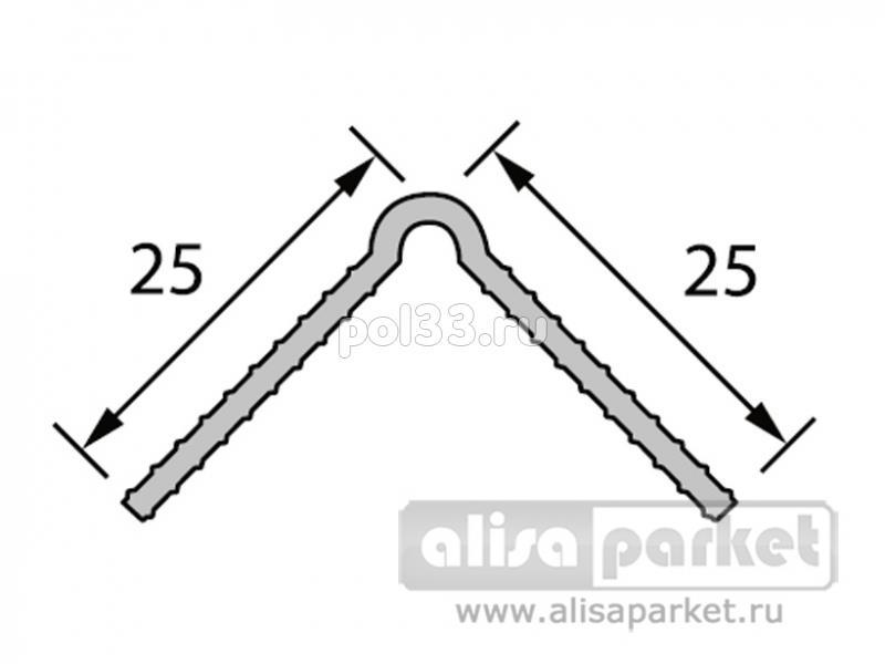 Плинтуса и пороги Ideal Углы под штукатурку Угол штукатурный УШ купить в Калуге по низкой цене