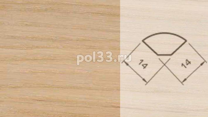 Плинтуса и пороги Pedross Шпонированный 14/14мм Дуб без покрытия купить в Калуге по низкой цене