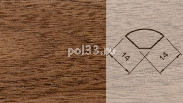 Плинтуса и пороги Pedross Шпонированный 14/14мм Орех купить в Калуге по низкой цене