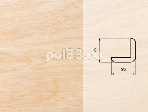 Плинтуса и пороги Pedross Шпонированный 25/25мм Клен купить в Калуге по низкой цене