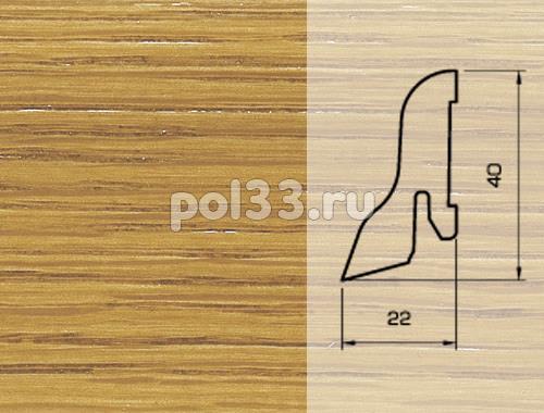 Плинтуса и пороги Pedross Шпонированный 40/22мм Дуб купить в Калуге по низкой цене