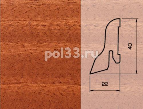 Плинтуса и пороги Pedross Шпонированный 40/22мм Махагон купить в Калуге по низкой цене