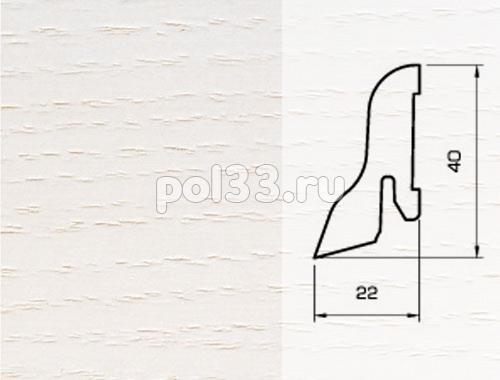 Плинтуса и пороги Pedross Шпонированный 40/22мм Ясень беленый купить в Калуге по низкой цене