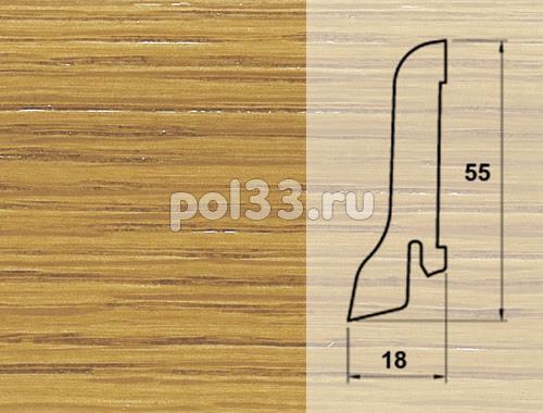 Плинтуса и пороги Pedross Шпонированный 55/18мм Дуб купить в Калуге по низкой цене
