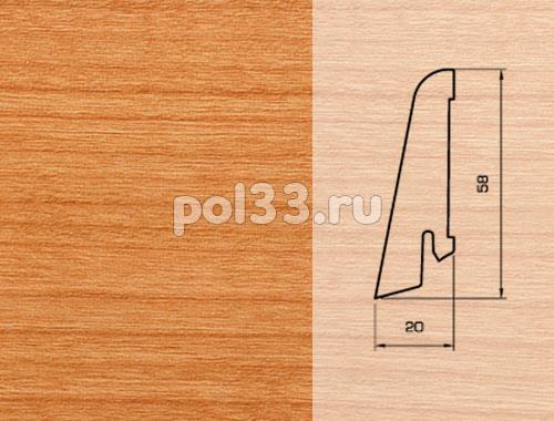 Плинтуса и пороги Pedross Шпонированный 58/20мм Вишня купить в Калуге по низкой цене