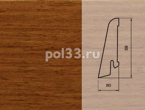 Плинтуса и пороги Pedross Шпонированный 58/20мм Дусси купить в Калуге по низкой цене