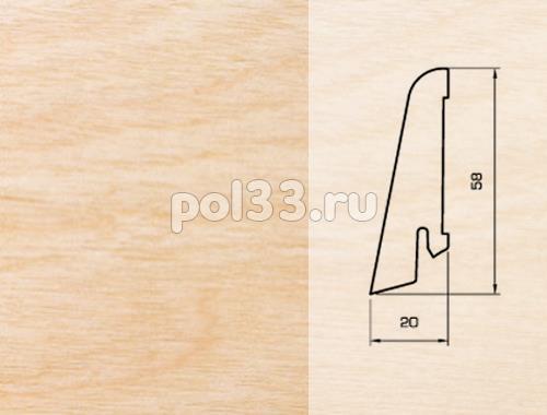 Плинтуса и пороги Pedross Шпонированный 58/20мм Клен купить в Калуге по низкой цене