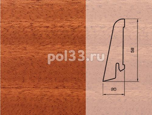 Плинтуса и пороги Pedross Шпонированный 58/20мм Махагон купить в Калуге по низкой цене