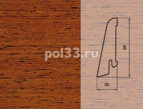 Плинтуса и пороги Pedross Шпонированный 58/20мм Мербау купить в Калуге по низкой цене