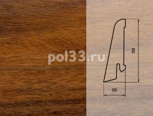 Плинтуса и пороги Pedross Шпонированный 58/20мм Палисандр купить в Калуге по низкой цене