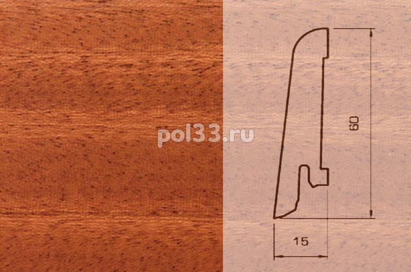 Плинтуса и пороги Pedross Шпонированный 60/15мм Махагон купить в Калуге по низкой цене