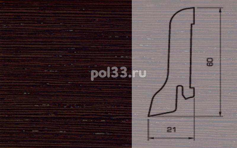 Плинтуса и пороги Pedross Шпонированный 60/22мм Венге ориджинал купить в Калуге по низкой цене