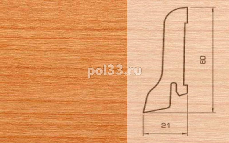 Плинтуса и пороги Pedross Шпонированный 60/22мм Вишня купить в Калуге по низкой цене