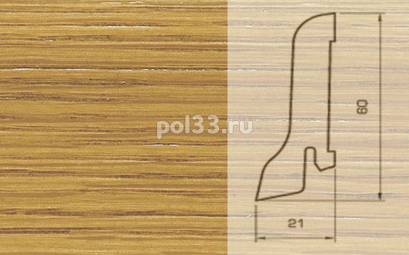 Плинтуса и пороги Pedross Шпонированный 60/22мм Дуб купить в Калуге по низкой цене