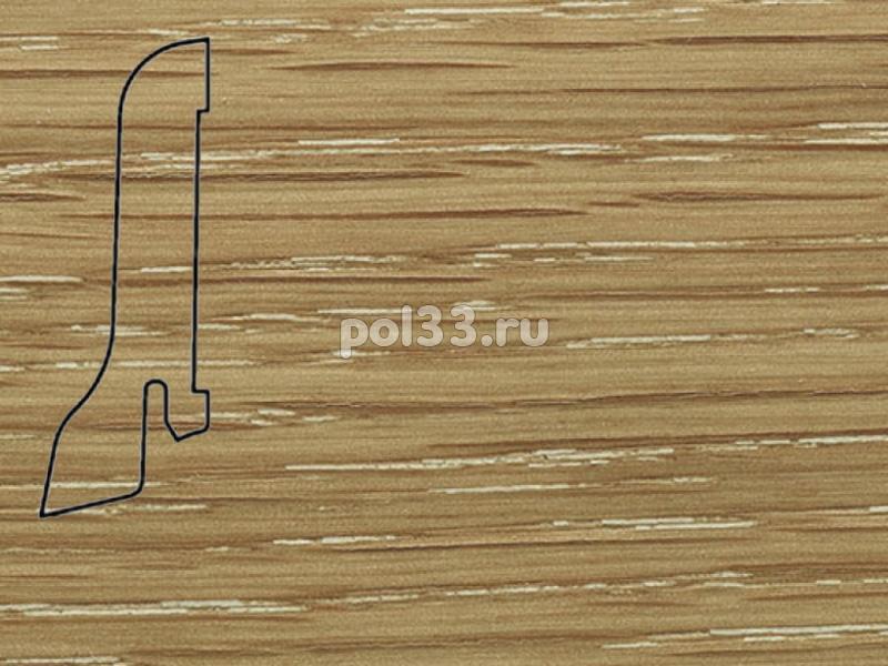 Плинтуса и пороги Pedross Шпонированный 60/22мм Дуб затертый купить в Калуге по низкой цене