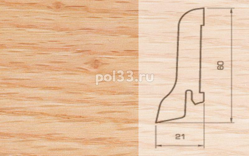 Плинтуса и пороги Pedross Шпонированный 60/22мм Дуб красный купить в Калуге по низкой цене