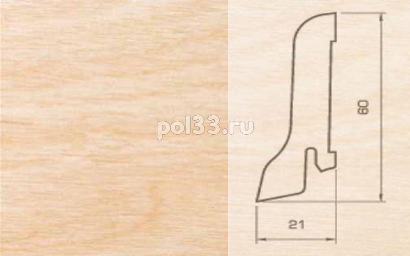 Плинтуса и пороги Pedross Шпонированный 60/22мм Клен купить в Калуге по низкой цене