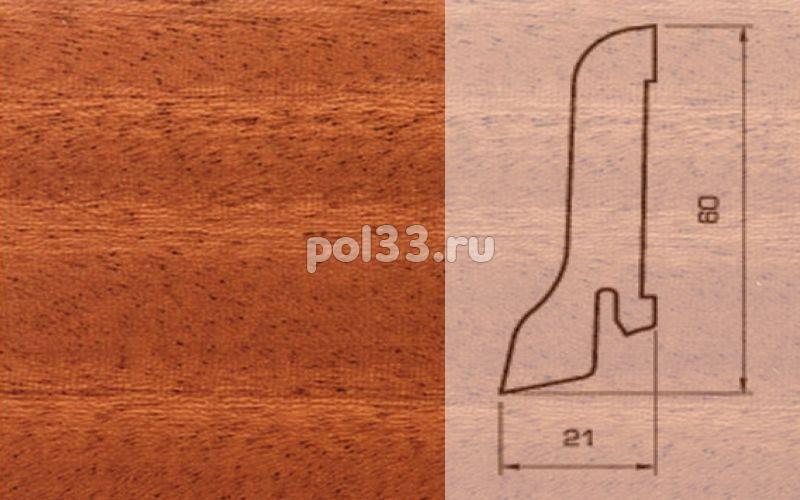 Плинтуса и пороги Pedross Шпонированный 60/22мм Махагон купить в Калуге по низкой цене