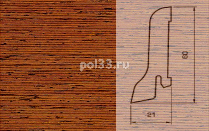 Плинтуса и пороги Pedross Шпонированный 60/22мм Мербау купить в Калуге по низкой цене