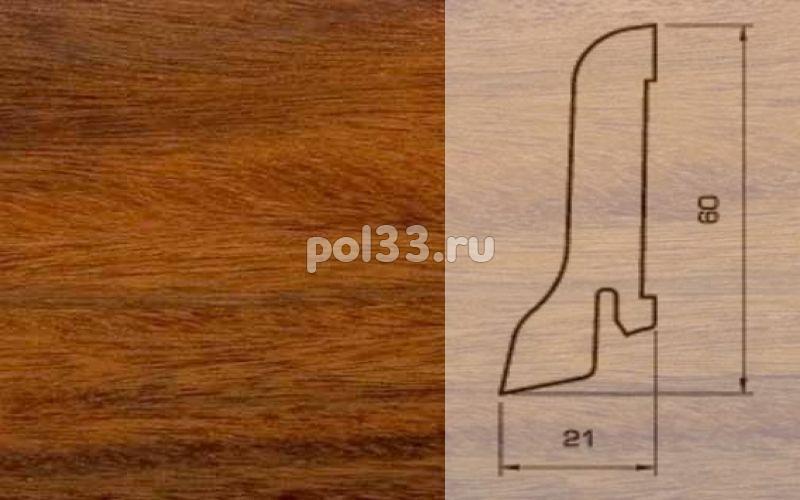 Плинтуса и пороги Pedross Шпонированный 60/22мм Палисандр купить в Калуге по низкой цене