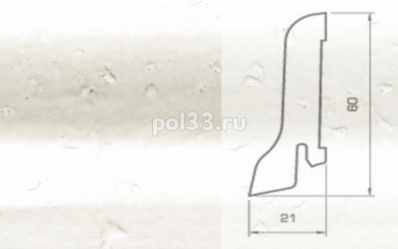 Плинтуса и пороги Pedross Шпонированный 60/22мм Пробка белая купить в Калуге по низкой цене