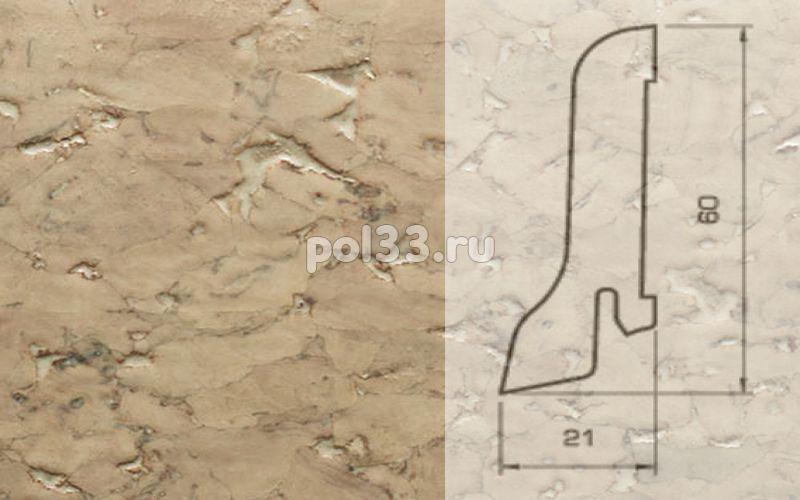 Плинтуса и пороги Pedross Шпонированный 60/22мм Пробка кремовая купить в Калуге по низкой цене