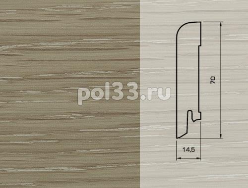 Плинтуса и пороги Pedross Шпонированный 70/15мм Дуб Капуччино купить в Калуге по низкой цене