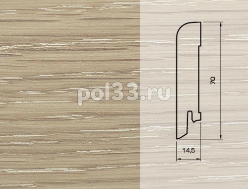 Плинтуса и пороги Pedross Шпонированный 70/15мм Дуб Латте купить в Калуге по низкой цене