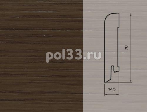 Плинтуса и пороги Pedross Шпонированный 70/15мм Дуб Романов купить в Калуге по низкой цене