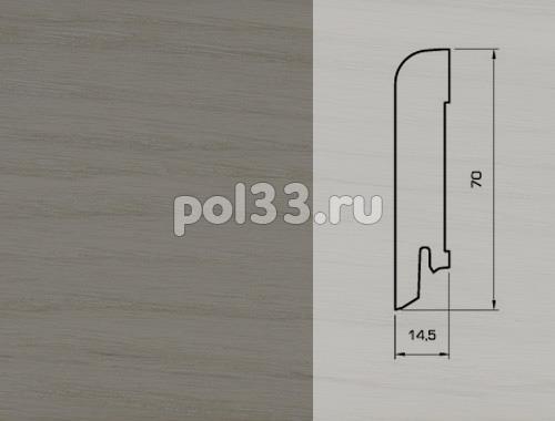 Плинтуса и пороги Pedross Шпонированный 70/15мм Дуб Фанди купить в Калуге по низкой цене