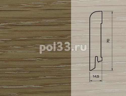 Плинтуса и пороги Pedross Шпонированный 70/15мм Дуб Чиспик купить в Калуге по низкой цене