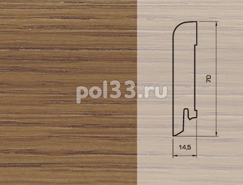 Плинтуса и пороги Pedross Шпонированный 70/15мм Дуб Эстрелла купить в Калуге по низкой цене