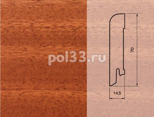 Плинтуса и пороги Pedross Шпонированный 70/15мм Махагон купить в Калуге по низкой цене